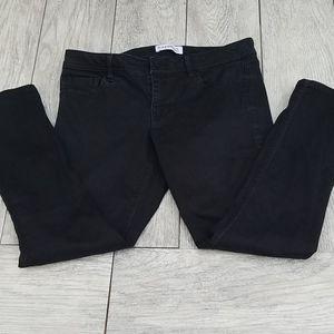 Express black ankle jeans sz 4